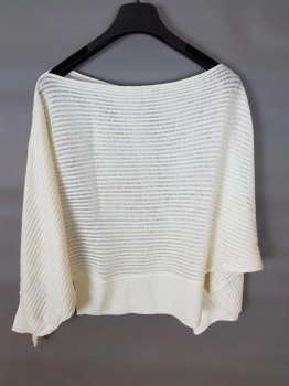 Knitted Bat Wing Top