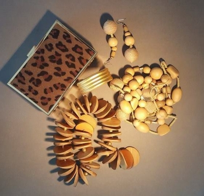 African-Tribal Inspired Accessories Set