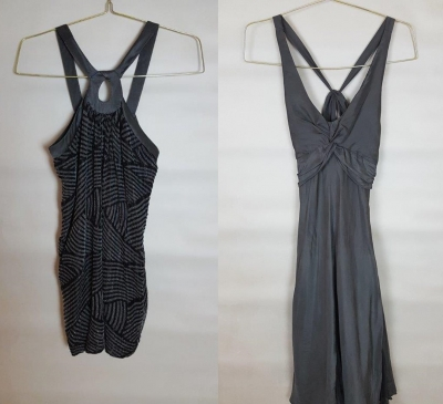 2 Evening Dresses - Armani Exchange and Mango Preloved