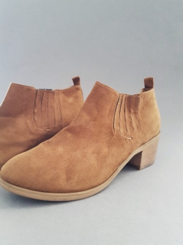 Ladies' Nude Suede Boots