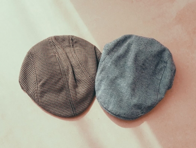 SET OF 2 FLATCAPS